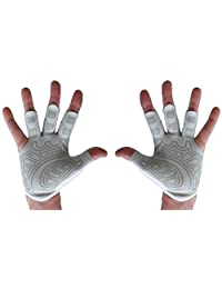 Rowing Gloves & Cross Fit Gloves - Left Hand, Right Hand, Pair Textured Palm - Best Comfortable Scull Fingerless Gloves for Men Women
