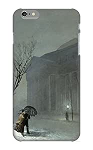 Iphone 6 Plus Case Slim [ultra Fit] Albany In The Snow Protective Case Cover(best Gift Choice For Friends)