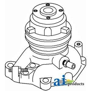 John Deere Tractor Water Pump Part No: A-AM3060T, AM3060T...