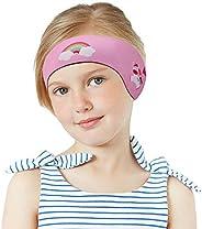MoKo Swimming Headband for Kids & Adults, Cute Swinmmers Headband Ear Band Waterproof Ear Protection Band