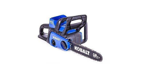 Amazon.com: Kobalt KCS 120-07 40 V Max Ion de litio 12 en ...