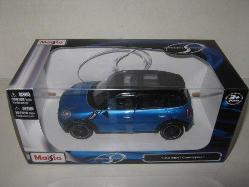 Mini Cooper 4dr Countryman Blue 1/24 by Maisto 31273