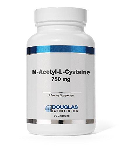 Douglas Laboratories - N-Acetyl Cysteine (750 mg.) - Glutathione Precursor for Antioxidant Protection* - 90 Capsules
