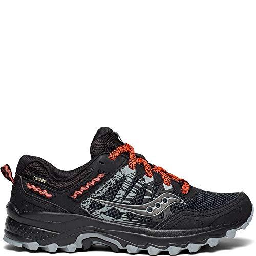 Saucony Women's Excursion TR12 GTX Sneaker, Black 1, 12 M US