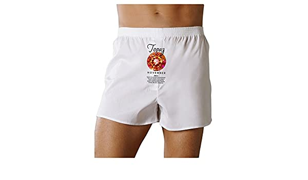 TooLoud Birthstone Topaz Boxers Shorts