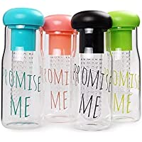 Promise me Large Capacity 750 ml Green Tea Or Fruit Infuser Water Bottle Tumbler Lovers