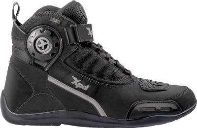 Spidi Sport S.R.L. XJ H2Out Shoes , Size: 13, Distinct Name: Black, Gender: Mens/Unisex, Primary Color: Black S64-026-47