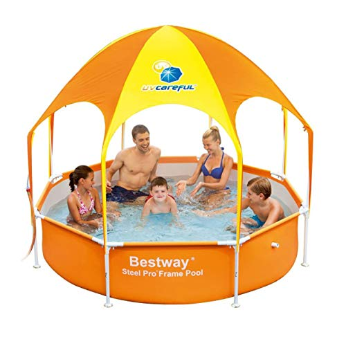 - H2OGO! Splash-in-Shade Play Pool Orange