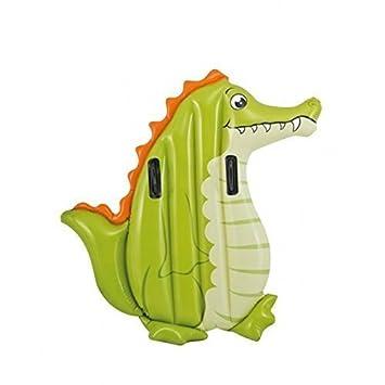 Crocodilo / Cocodrilo / Croc Colchoneta / Flotador animal / Estera flotante para niños: Amazon.es: Juguetes y juegos