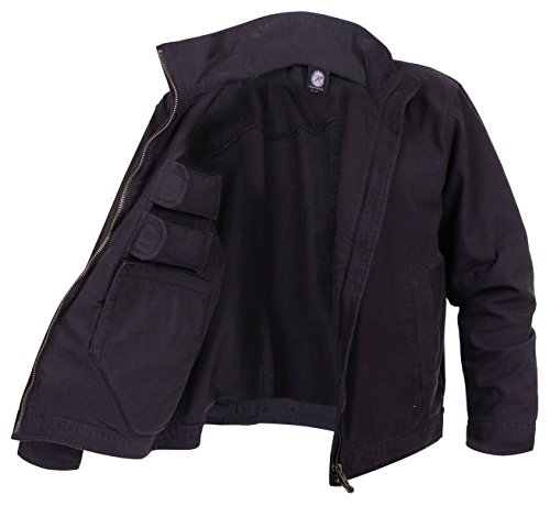 Rothco Lightweight Concealed Carry Jacket, Black, 4X-Large (Best Concealed Carry Jacket)