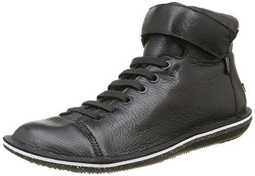 Camper Women's Beetle Hi-Top Sneakers Black (Black 004) 5R9Nup1