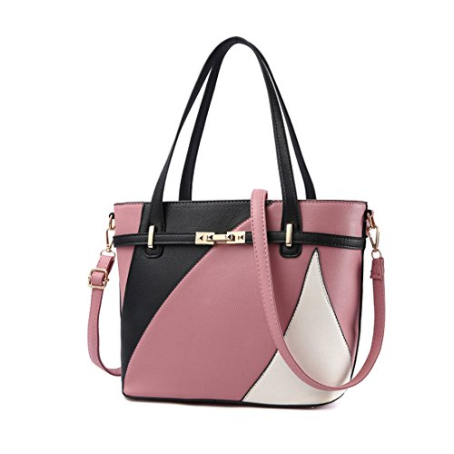 a Classique Travail YYF rose Sac rubber dos Sac Sac Casual Main Fille bandouliere a Femme wqaqzp
