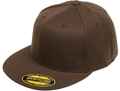 Yupoong Flexfit Premium Fitted Baseball Cap 6210 White S-M e9febb63ff3