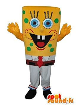 Mascota SpotSound Amazon bob esponja personalizable - Disfraz de ...