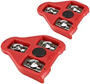 Bike Replacement Cleats Compatible with Look Delta Pedals (9 Degree Float) - Indoor Cycling & Road Bike Bi