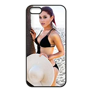 Customize American Famous Singer Ariana Grande Back Case for iphone 5 5S JN5S-2467 by icecream design