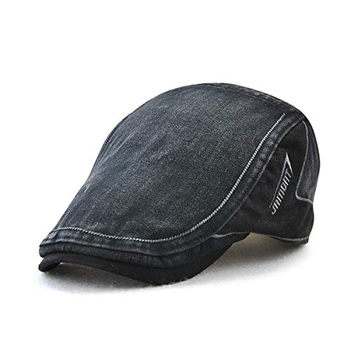 B GLLH Sombrero otoño Delantero en algodón Gorra de qin hat Sombrero Casual B Costura Sombreros para Retro Color Primavera Liso Sombrero de Hombres y q1CqwSfxr