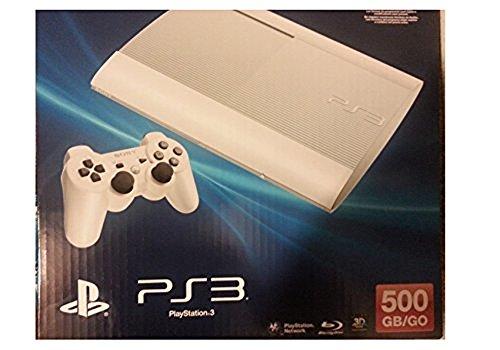 Sony playstation 3 500gb limited edition console white desertcart - Ps3 limited edition console ...