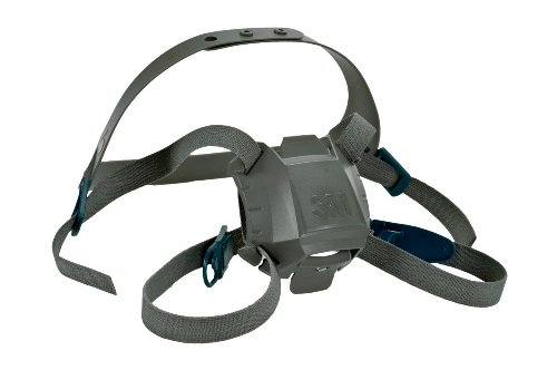 3M 6581 Rugged Comfort Head Harness Assembly, Respiratory...