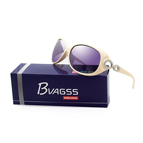 De Purple Para Sol Mujer Clásico Gafas Moda Polarizadas De WS033 Frame De UV400 Gray BVAGSS Lens Beige Estilo qpnwRxBzfg
