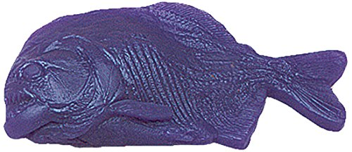 Nasco 9719197 Life/form Fish Replica Rubber Stamp, Piranha, 8'' Length x 4'' Width by Nasco