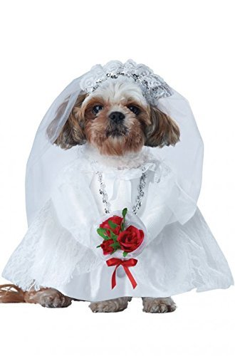 2015 New! California Costumes Puppy Love-Bride Dog Pet (Puppy Love Bride Dog Costumes)