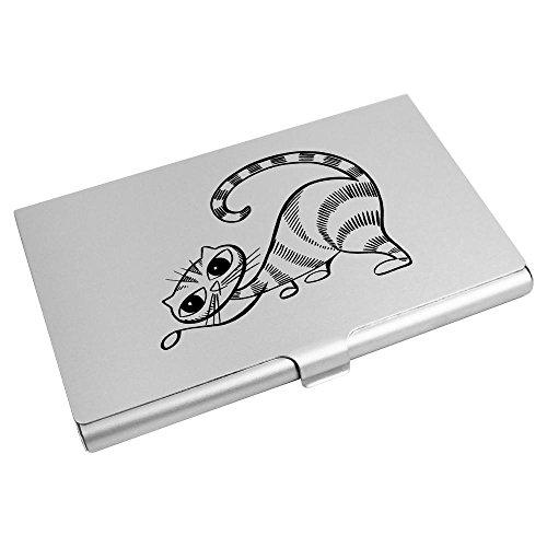 Azeeda Card 'Cat' Holder Business Business Card Card CH00000443 CH00000443 Holder Wallet Card Credit Azeeda Azeeda Wallet Credit 'Cat' A0qSBwZ