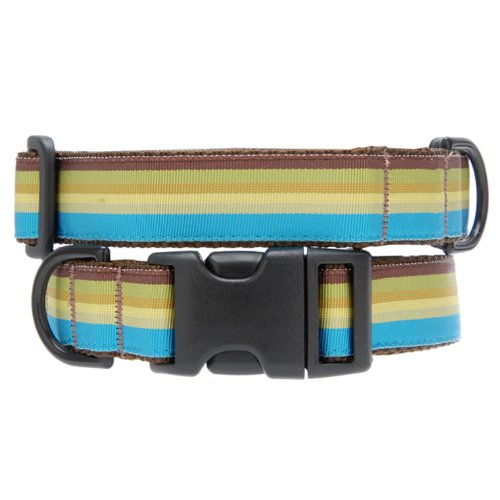 Max & Zoey Madge Dog Collar, X-Small, Brown