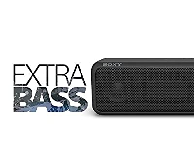 Sony SRSXB3/BLK Portable Wireless Speaker with Bluetooth (Black)
