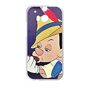 HTC One M8 Phone Case White Pinocchio Pinocchio DYW5150350