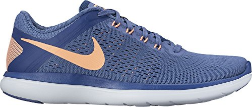 Nike Wmns Flex 2016 Rn, Zapatillas de Running para Mujer Varios colores (Azul / Naranja / Blue Moon / Sunset Glow / Coastal Blue)