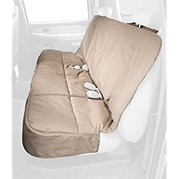 Canine Covers 2nd Row Semi-Custom Fit Seat Protector - Polycotton (Wet Sand)