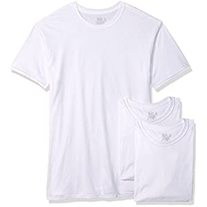 Fruit of the Loom Men's 3-Pack Tall Size Crew-Neck T-Shirt
