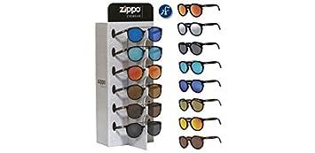 8 gafas Zippo Sol redondas polic. con expositor 2018 ...