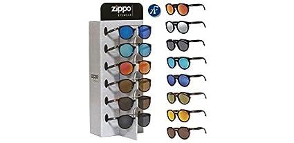 8 gafas Zippo Sol redondas polic. con expositor 2018: Amazon ...