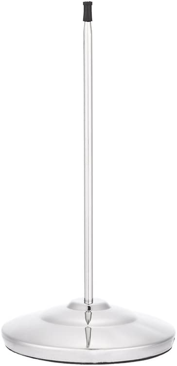 Anself Stainless Steel Straight Rod Paper Memo Holder,Stainless Steel Receipt Holder (1PC)