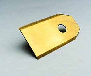 !Titan! 30 Genisys® Messer (Ti3=0,75mm) und Schrauben für Husqvarna...