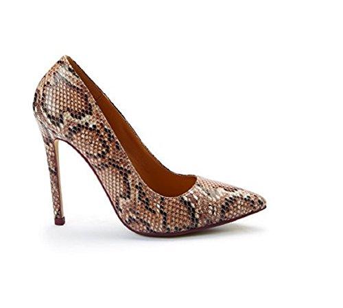 Snake Mariage pour Stiletto Sparkle de femme Talon Chaussures Occasion nZH8qS