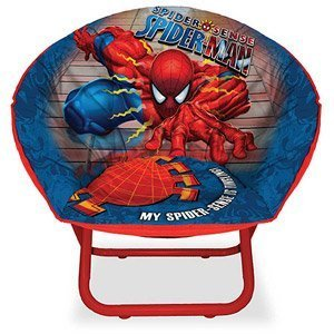 (Marvel Ultimate Spiderman Boys Saucer Chair)