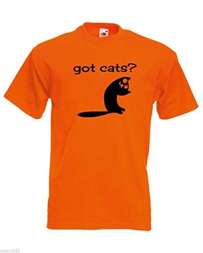 con Gift e da Random uomo Smiling citazione Orange T Modello Shirt Free carino Got shirt Decal Cats gatto Funny Kitten wYTBqxt