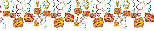 Foil Swirls Mega Value Pack | Party Decoration ()