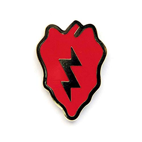 Dope Waffles 25th Infantry Division US Army Unit Insignia Enamel Pin