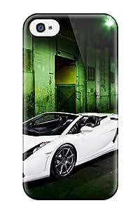 Cute High Quality Iphone 4/4s Adv1 Lamborghini Gallardo Case
