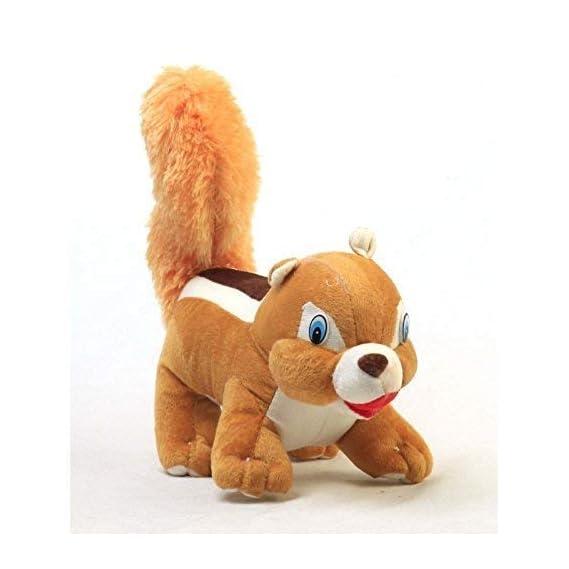 MentalLook Squirrel Soft Toy, gilahari Toy, Squirrel Toy for Kids (Brown) 30 cm