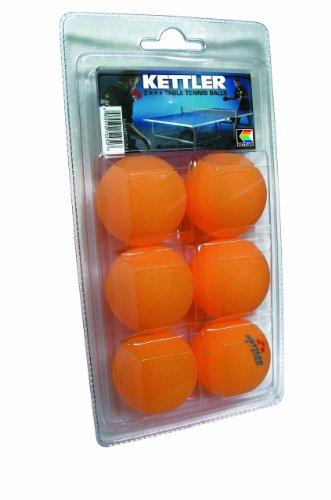 Kettler Table Tennis Balls, 40 mm Regulation Size: 3 Star...