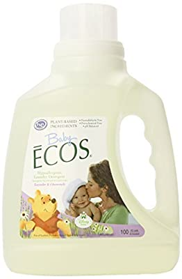 Earth Friendly Products Baby Ecos Laundry Detergent, Lavender and Chamomile, 100 Ounce by Earth Friendly Products