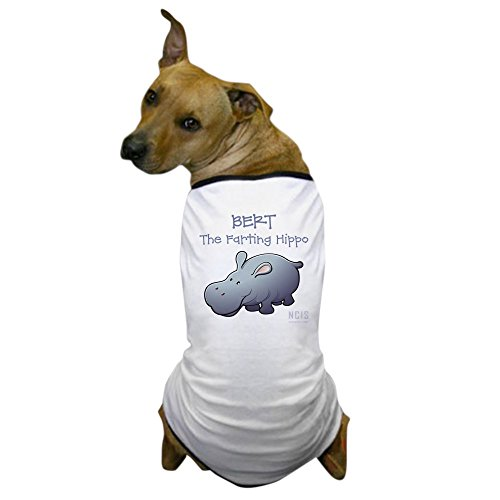 CafePress - BERT The Farting Hippo - Dog T-Shirt, Pet Clothing, Funny Dog -