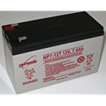 EnerSys NP7-12 12V 7Ah Sealed Lead Acid Battery - This is an AJC Brand® Replacement