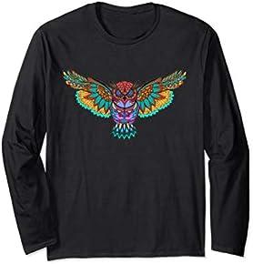 Paisley Owl Graphic T-Shirt