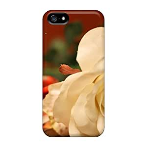 Iphone 5/5s RRY31693jfal White Rose For You Cases Covers. Fits Iphone 5/5s